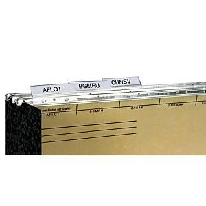 Bene Vetro-Mobil kiegészítő - műanyag címketartó, 50 darab/csomag