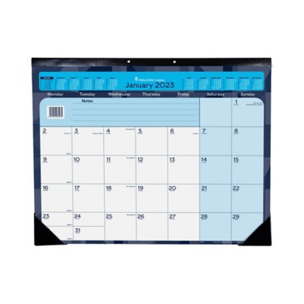 Collins Desk Mat Calendar