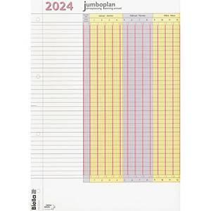 Planificateur de vacances Biella Jumboplan 876418, 2022 emballage de 2 pièces