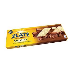 Zlaté oplátky Opavia čokoládové, 146 g