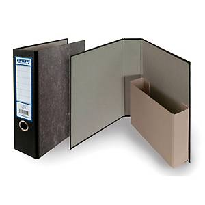 EMBA P75 ARCHIVING FILE 75MM MARBLE BLK