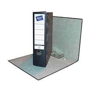 Hit Office Ordner für Hängehefter, A4, 8 cm, Marmormuster