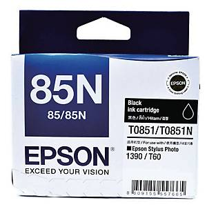 EPSON T0851 STYLUS PHOTO 1390 BLK