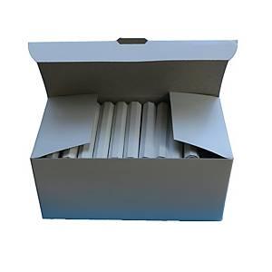 Tafelkreide Alpha 100001, weiß, 72 Stück