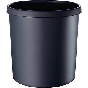 Papierkorb Helit H61064, Fassungsvermögen: 18 Liter, schwarz