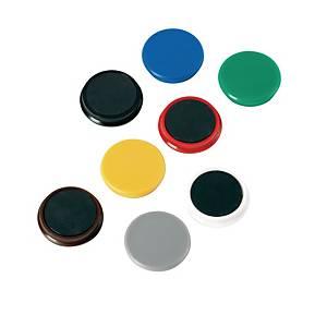 Haftmagnet Alco 6828, Durchmesser: 24mm, blau