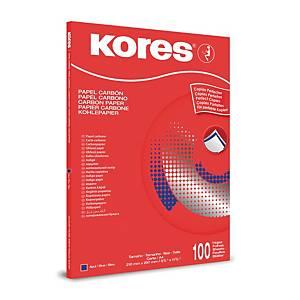 Blaupapier Radex DUPA5042 A4 blau 100 Blatt