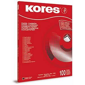Kohlepapier Radex KOPA2042 A4 schwarz 100 Blatt