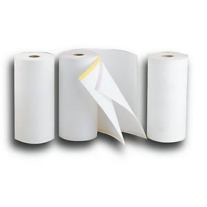Bobina de papel para telex - 210 mm x 80 m