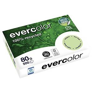 EVERCOLOUR RECYCLED PAPER A4 80 G GREEN - REAM OF 500 SHEETS