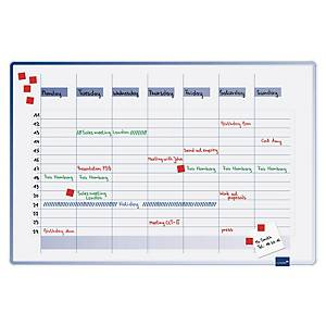 Legamaster 4900 accents linear weekly planner 60x90 cm
