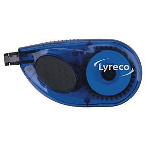 Korrekturroller Lyreco 4.2mm x 8.5m seitlich für Gedrucktes weiß