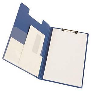 FOLDOVER CLIPBOARD FC-501 PP BLUE