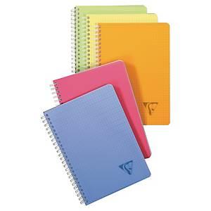 Geschäftsbuch Clairefontaine 328506, Linicolor, A5, kariert, 90 Blatt