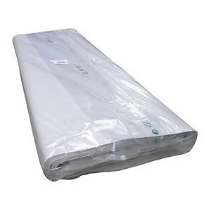 Univerzál csomagolópapír, 70 x 100 cm, fehér, 310 ív