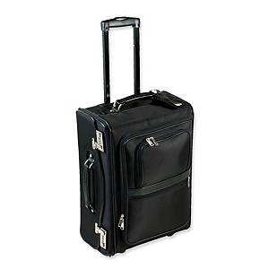 Monolith 2383 microfibre pilot case with laptop compartment