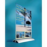 Durable (8589-19) T-display voor A4 documenten, transparant