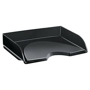 Lyreco letter tray side load black