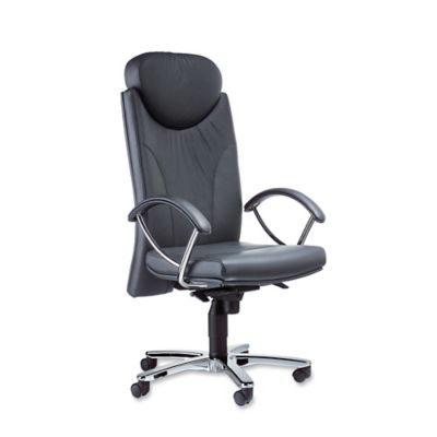 Delicieux INTERSTUHL H212 FIRE RETARDANT SYNCHRON MANAGEMENT LEATHER CHAIR