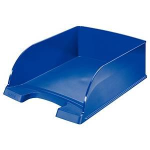 Leitz Plus Jumbo 5233 brievenbak, A4, blauw
