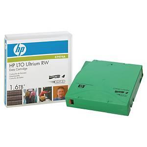 Cartouche HP LTO 4 Ultrium RW - C7974A - 800/1600 Go
