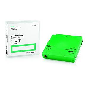 Cartucho de datos HP LTO 4 Ultrium RW - C7974A - 800/1600 Gb