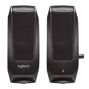 Lautsprechersystem Logitech S120, kabelgebunden, schwarz