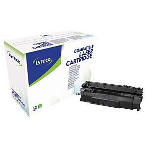 Toner laser Lyreco compatível com HP 53A - Q7553A - preto