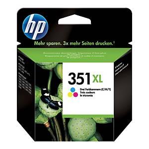 Tusz HP 351XL CB338EE kolorowy CMY