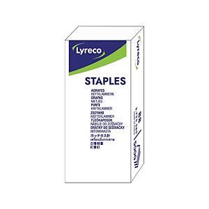 Lyreco No.B8 Staples - Box of 5000