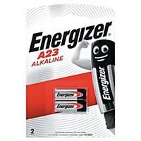 Batterier Energizer Alkaline A23, 12V, pakke a 2 stk.