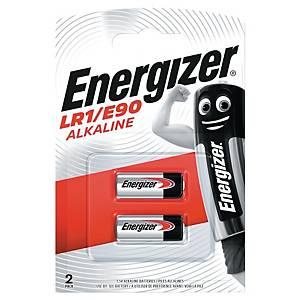 Piles Energizer Alcaline LR1/E90,1,5 V, paq. 2unités