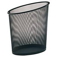 Corbeille à papier Alba Mesh - 18 L - noire