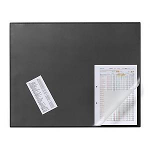 Durable Textile Lanyard Black With Badge Reel - Pack of 10