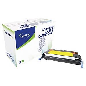 Lyreco compatible HP Q6472A cartouche laser nr.502A jaune [4.000 pages]