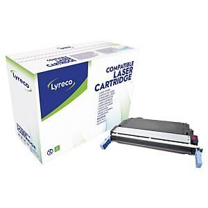 Cartouche de toner Lyreco compatible équivalent HP 643A - Q5953A - magenta