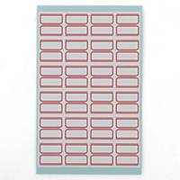 PK10 GOODLABEL 1001 LABELS 22.5X23MM RED