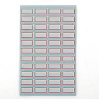 PK10 GOODLABEL 1010 LABELS 10X21MM RED