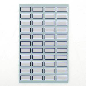 PK10 GOODLABEL 1010 LABELS 10X21MM BLU