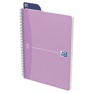 Notizheft Oxford Office Women Notebook A5, 5 mm kariert, 90 Blatt, assortiert