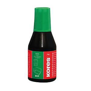 KORES 71318 razítková barva 28 ml, zelená
