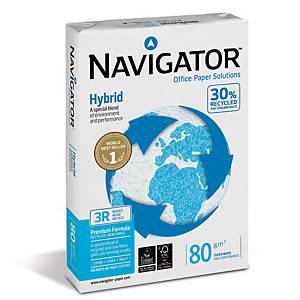 Navigator Hybrid uusiopaperi A4 80g, 1 kpl=500 arkkia