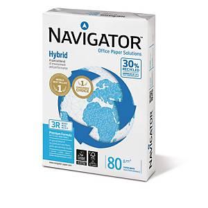 Kopierpapier Navigator Hybrid, A3, 80g, weiß, 500 Blatt