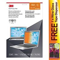 3M Notebook Privacy Filter 12.1 Inches 16:10