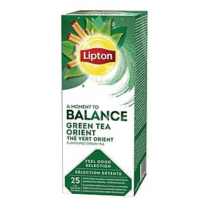 Te Lipton Grøn orient, pakke a 25 tebreve
