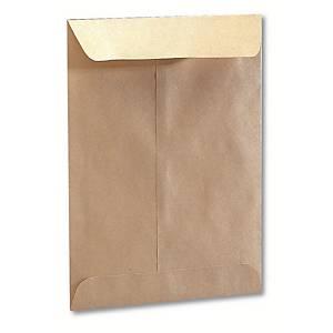 Caja de 1000 bolsas salario - 100 x 145 mm - 63 g/m² - banda adhesiva
