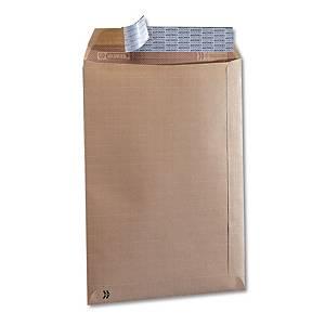 Caja de 100 bolsas seguridad - 229 x 324 mm - 125 g/m² - banda adhesiva