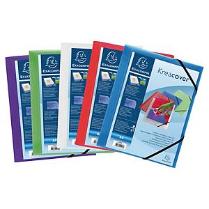 BX5 KREACOVER 55189 3-FLAP FOLDER CLEAR