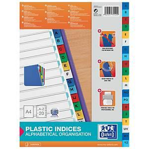 Intercalaire alphabétique Elba A4 - polypropylène - 20 touches