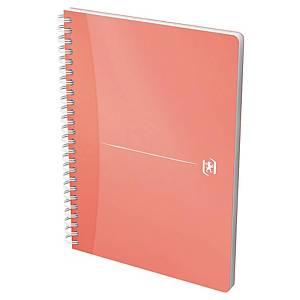 Cahier notes Oxford Office My Colours Notebook A5, 5mm à carr., 90feui., ass.